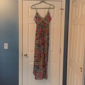 Milly silk maxi dress